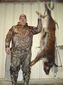 Steve from VA and his 120 boar
