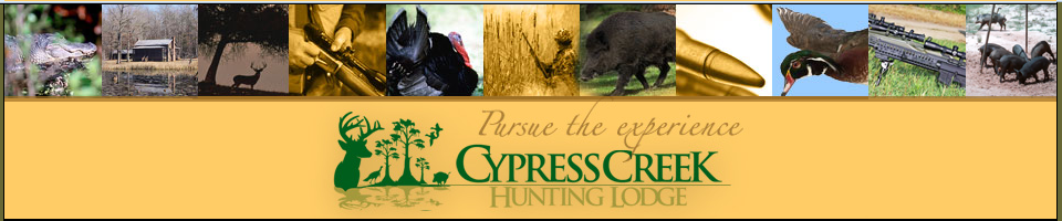South Carolina, Cypress Creek Hunting Lodge