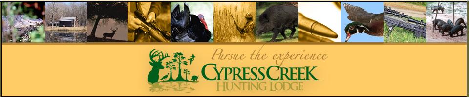 South Carolina, Cypress Creek Hunting Lodge